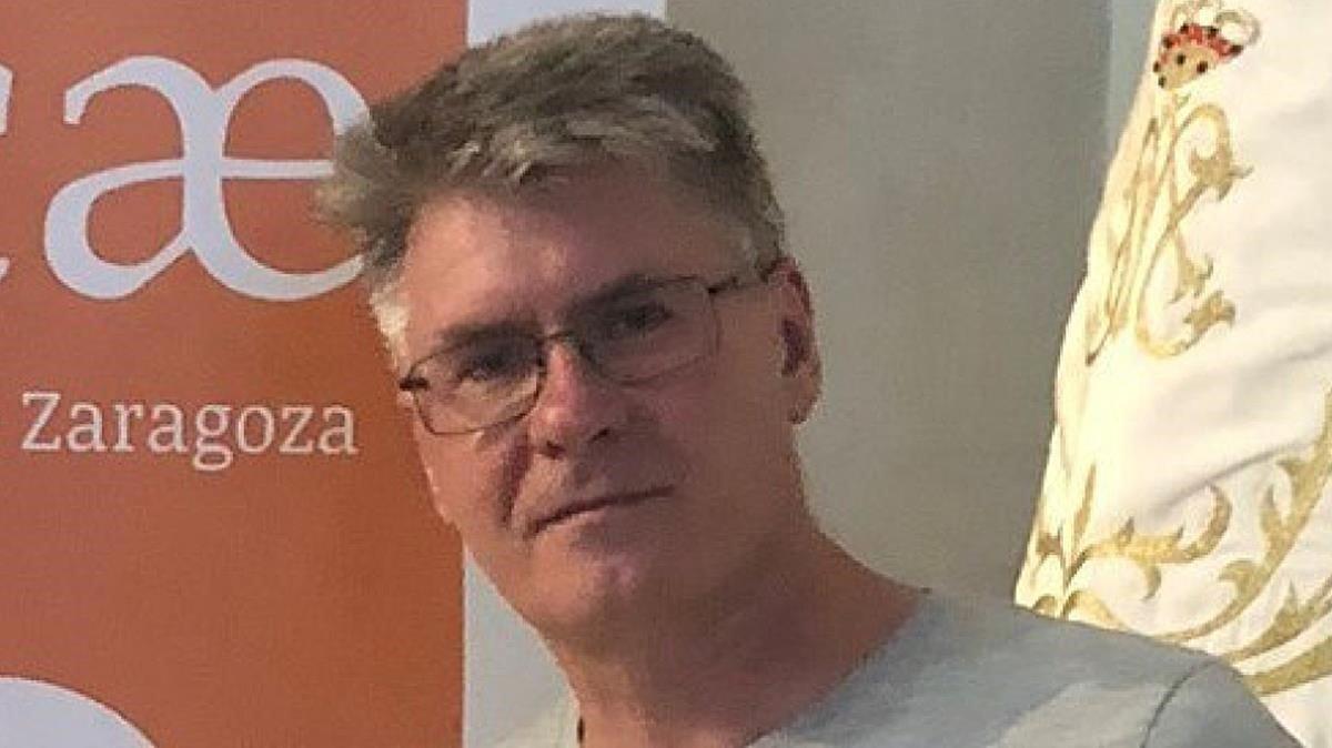 El escritor Sabino Cabeza, ganador del XV Premio Minotauro.