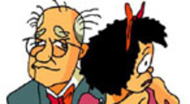 Quino y Mafalda, en una ilustración de Tàssies.