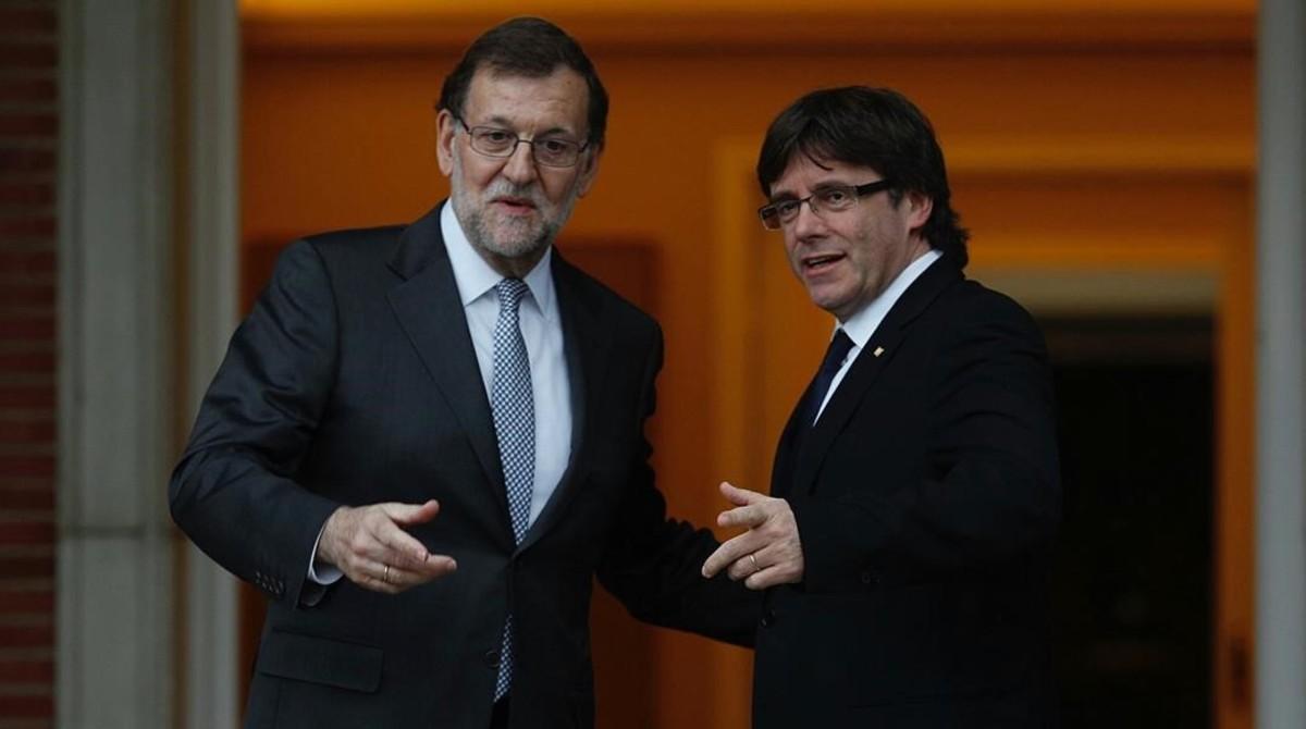 Carles Puigdemont Mariano Rajoy