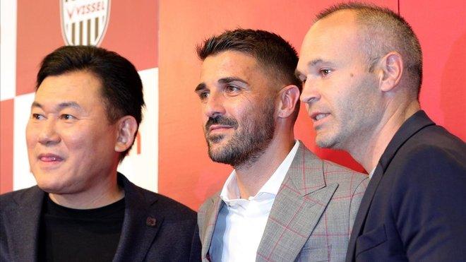 David Villa anuncia su retirada del fútbol a los 37 años