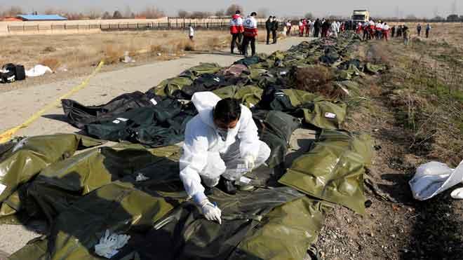 Un avió ucraïnès amb 176 persones s'estavella a prop de Teheran