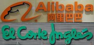 Alibaba y El Corte Inglés unen esfuerzos para competir con Amazon.