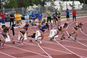Més de 600 atletes participen en la 3a Reunió de Velocitat de Gavà