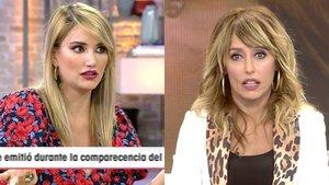 """El pique de Emma García con Alba Carrillo tras su bronca con María Patiño: """"Defiendo a quien me da la gana"""""""