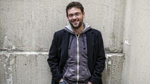 Albano Dante Fachin, diputado de Catalunya Sí que es Pot en el Parlament.