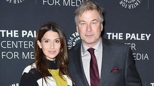 Alec Baldwin y su mujer, Hilaria Thomás, posan enThe Paley Center for Media, el pasado 2 de noviembre en Nueva York.