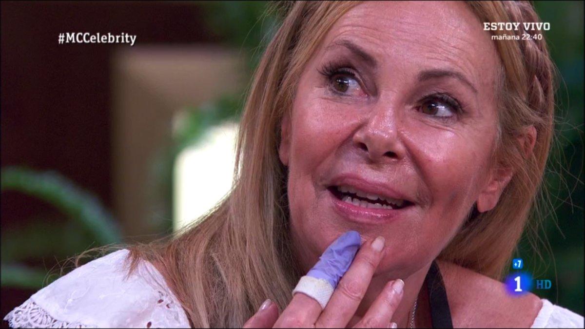 Ana Alonso Desnuda ana obregón, expulsada por segunda vez de 'masterchef celebrity'