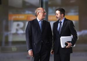Antoni Brufau y Josu Jon Imaz, presidente y consejero delegado de Repsol.