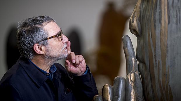 Jaume Plensa, en su estudio.