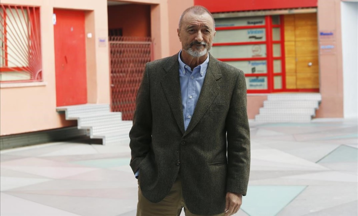 Arturo Pérez-Reverte, hace unos meses en Madrid.
