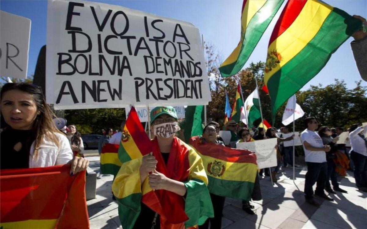 """Resultado de imagen para El Parlamento Europeo sostuvo que en las elecciones en Bolivia, que desataron una convulsión social que llevó a la renuncia al presidente Evo Morales, hubo una tentativa de fraude y exigió que se realicen nuevos comicios."""""""