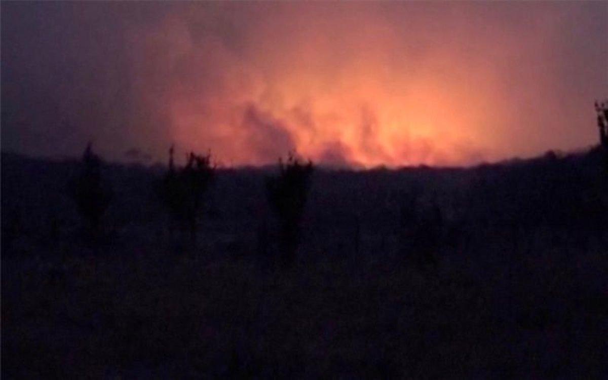 Estado de alerta por los incendios forestales en Bolivia.