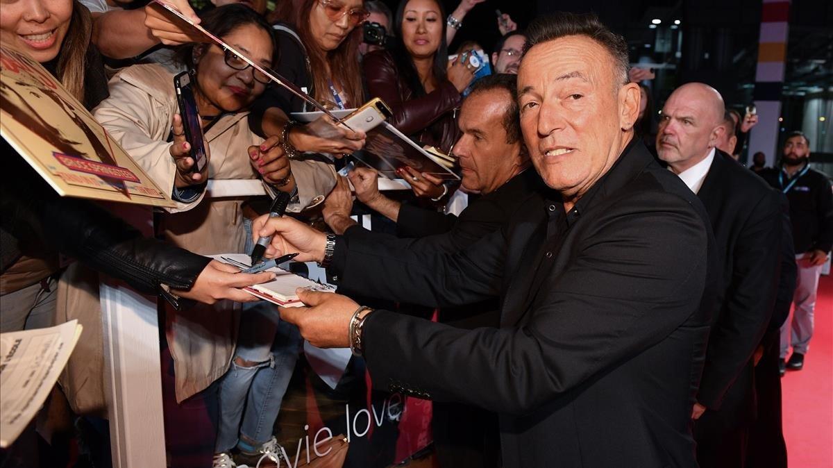 Bruce Springsteen, en Toronto, en la presentación de 'Western stars'