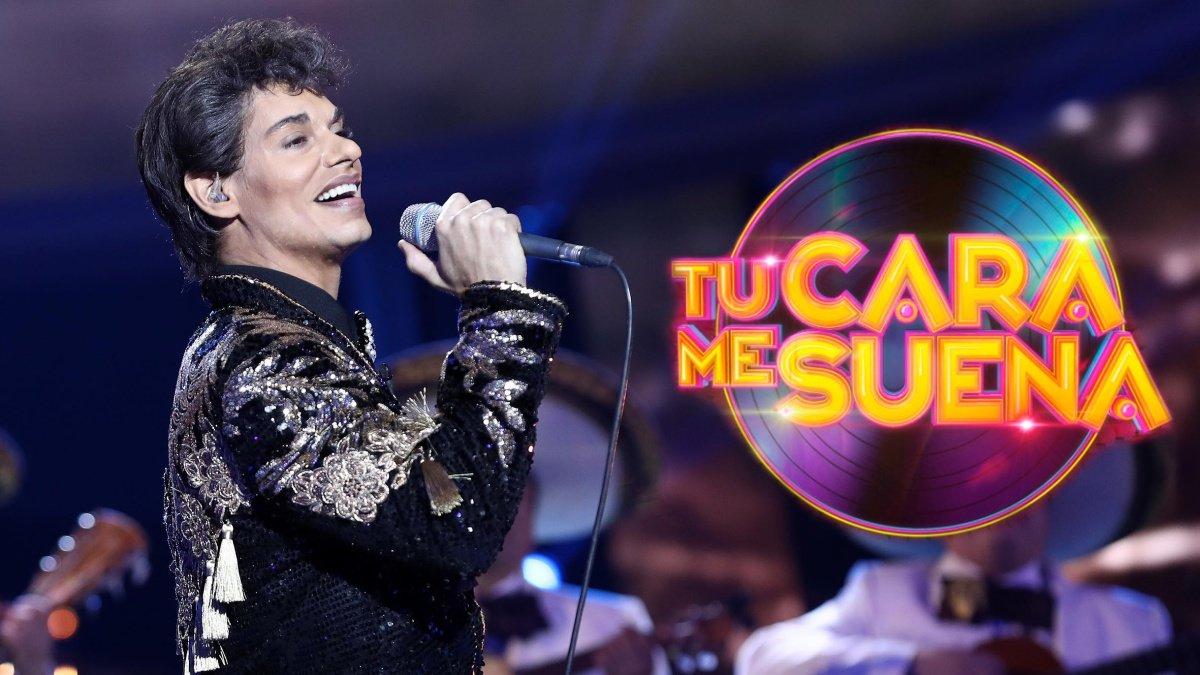 Carlos Baute imitando a Juan Miguel en Tu cara me suena.