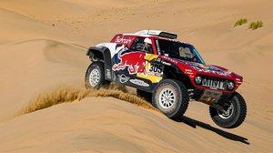 Carlos Sainz y su Mini 'buggy' brillaron a lo grande hoy en el Dakar.