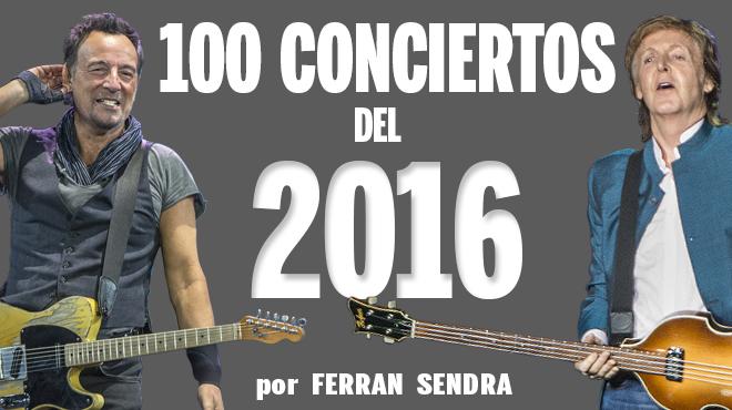 Cent concerts del 2016