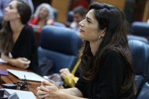 La portavoz de Podemos en la Asamblea de Madrid, Clara Serra.