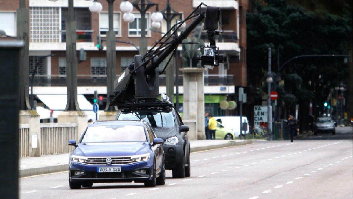 Rodaje de una marca de vehículos en València.