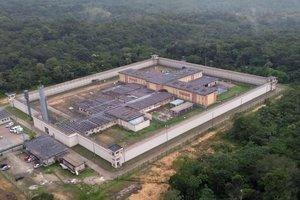 Complejo penitenciario Anisio Jobim, en Manaos.