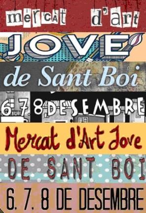 Obert el termini per participar en el concurs de cartells del Mercat d'Art Jove de Sant Boi