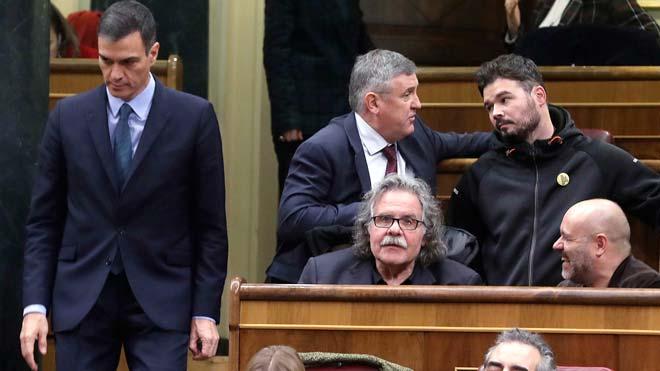 Els independentistes tomben els Pressupostos i aboquen Sánchez a eleccions