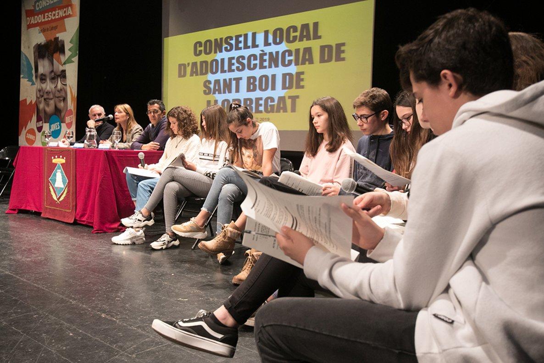 Consell de l'Adolescència de Sant Boi de Llobregat.