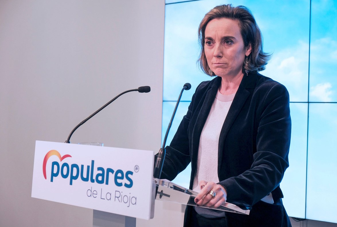 La vicepresidenta de Política Social del PP, Cuca Gamarra.