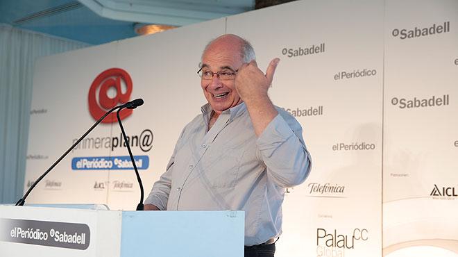 Lluís Rabell, candidato de Catalunya sí que es pot a las elecciones del 27-S, protagoniza el debate Primera Plana del lunes 21 de septiembre.