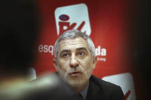 El diputat d'IU Gaspar Llamazares.