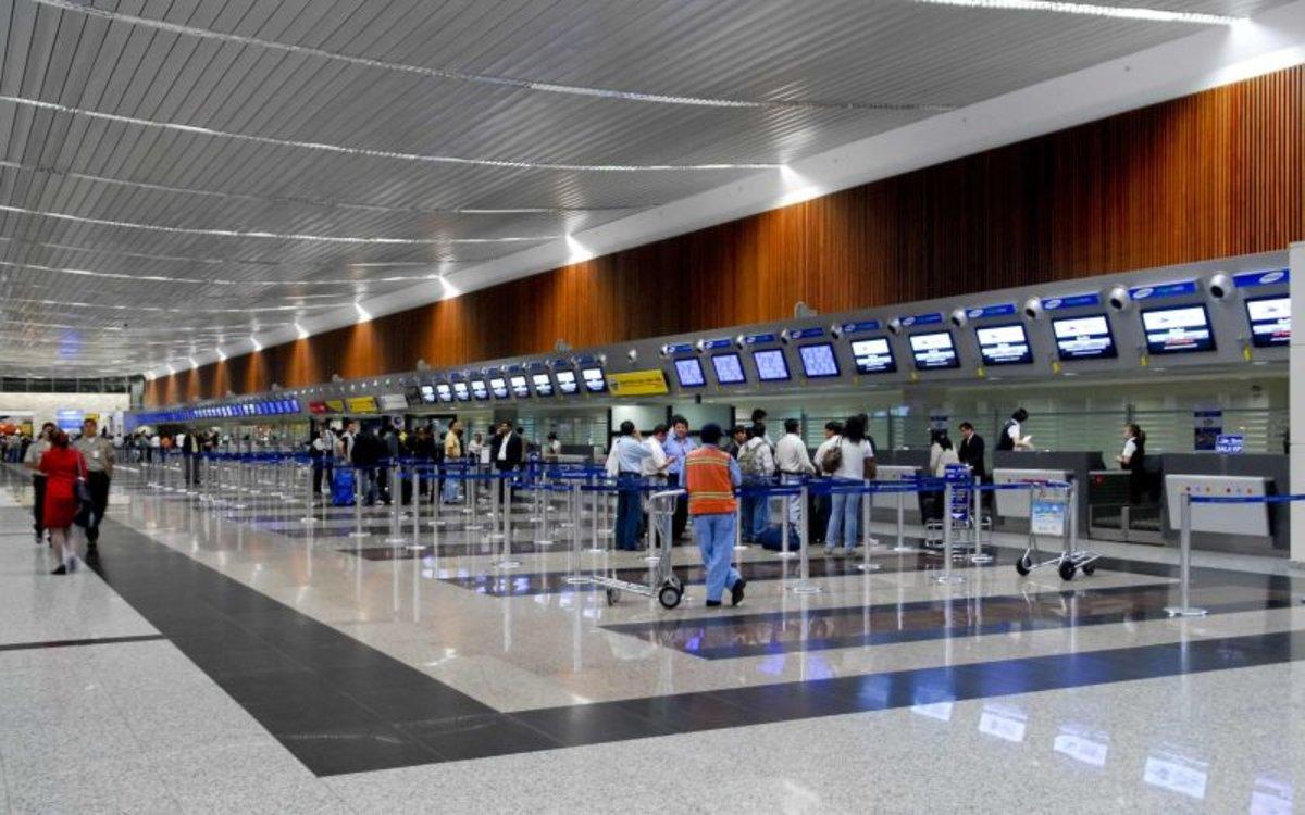 La terminal aérea de la ciudad de Guayaquil, Ecuador.
