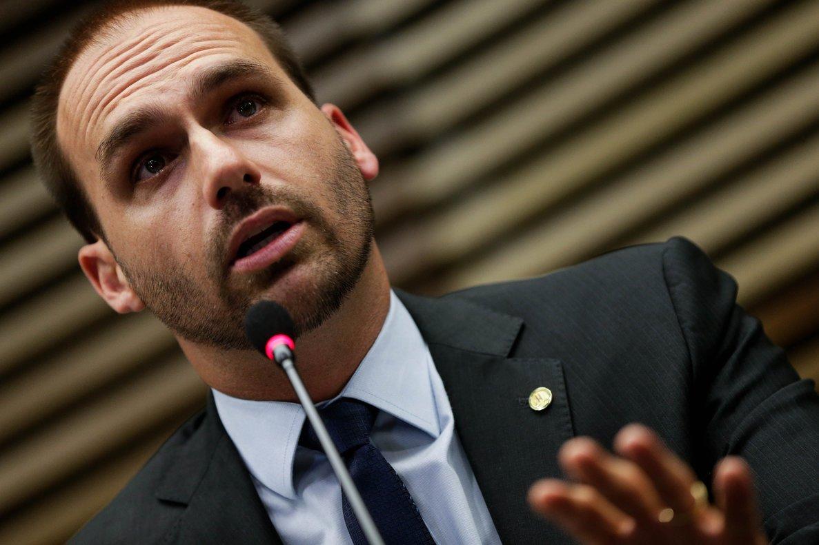 Brasil: El hijo de Bolsonaro busca el apoyo del Senado para ser embajador de EE.UU