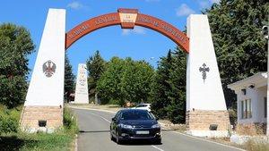 Entrada a la Academia militar de Talarn.