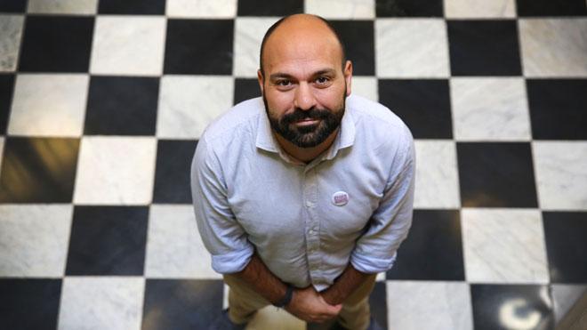 Entrevista al vicepresidente deÒmnium Cultural, Marcel Mauri