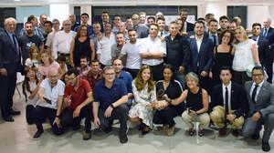 El equipo completo de Teams Motor, mejor concesionario Toyota de Barcelona en el 2017.