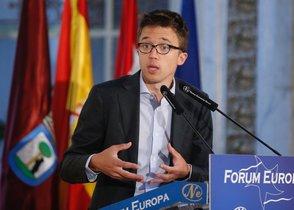 El candidato de Más Madrid a la Comunidad, Íñigo Errejón.