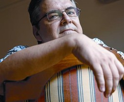 El escritor Sergi Pàmies, esta semana en Barcelona.