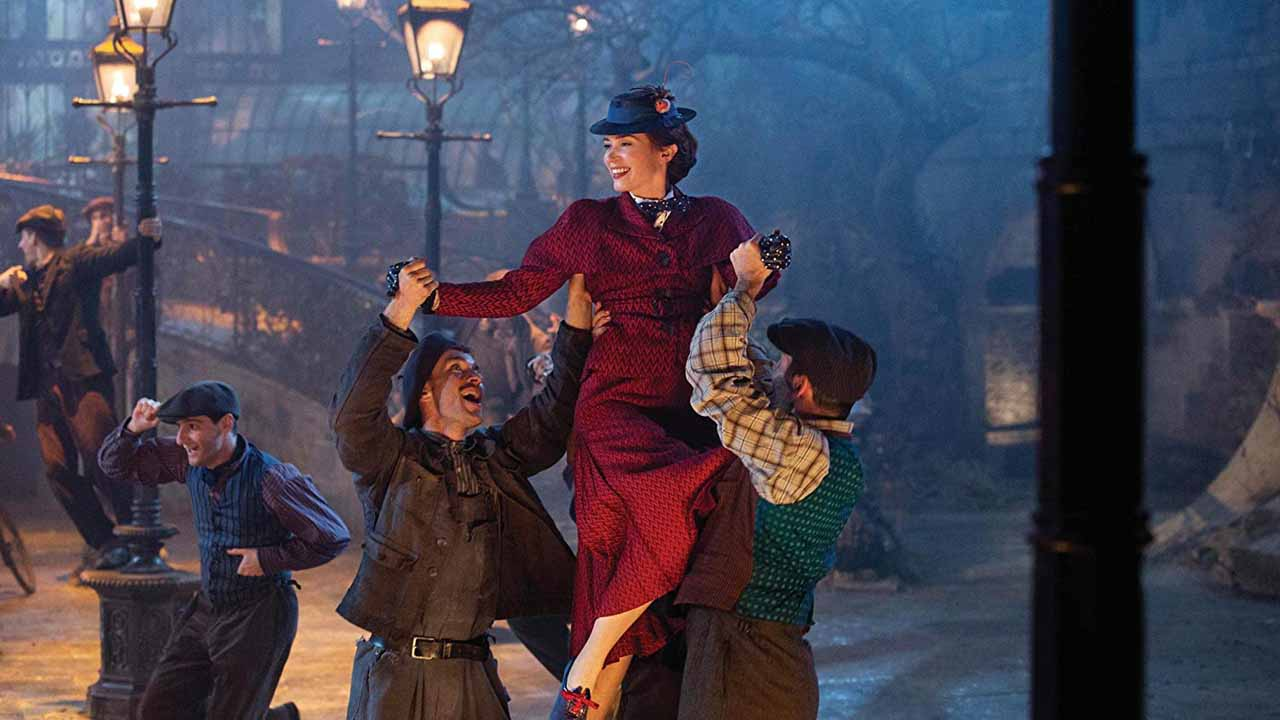 Estrenos de la semana. Tráiler de El regreso de Mary Poppins(2018)