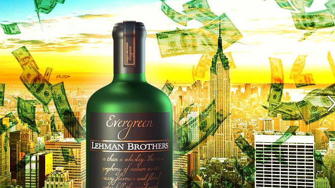 Lehman Brothers resucita y ahora es un whisky