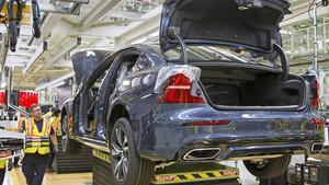 Fábrica de Volvo en Charleston.