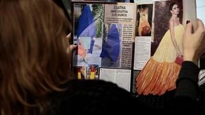 Agatha Ruiz de la Prada firma el divorci amb burca
