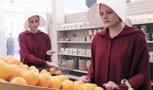 Elizabeth Moss, en El cuento de la criada.