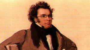 Franz Schubert, por Wilhelm August Rieder.