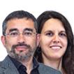Gabriel Fernández y Míriam Ferràndiz
