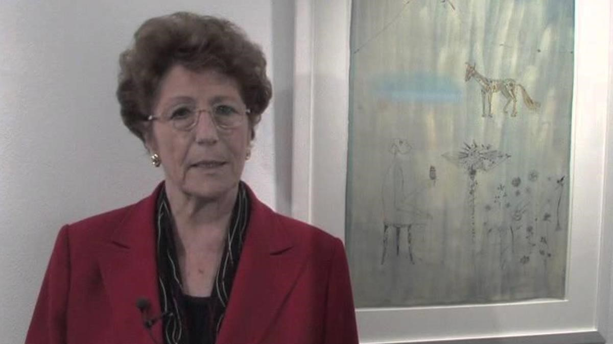 La galerista Dolors Junyent en una imagen de archivo.