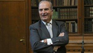 El presidente de Foment del Treball, Joaquim Gay de Montellà, en un encuentro con periodistas.