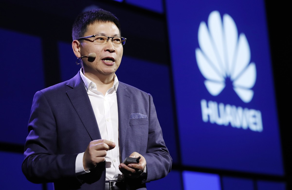 El director ejecutivo de Huawei, Richard Yu, en Berlín.