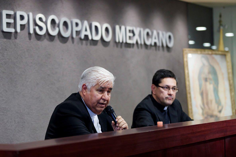 La Iglesia Catolica mexicana en medio de un escándalo por abusos sexuales.
