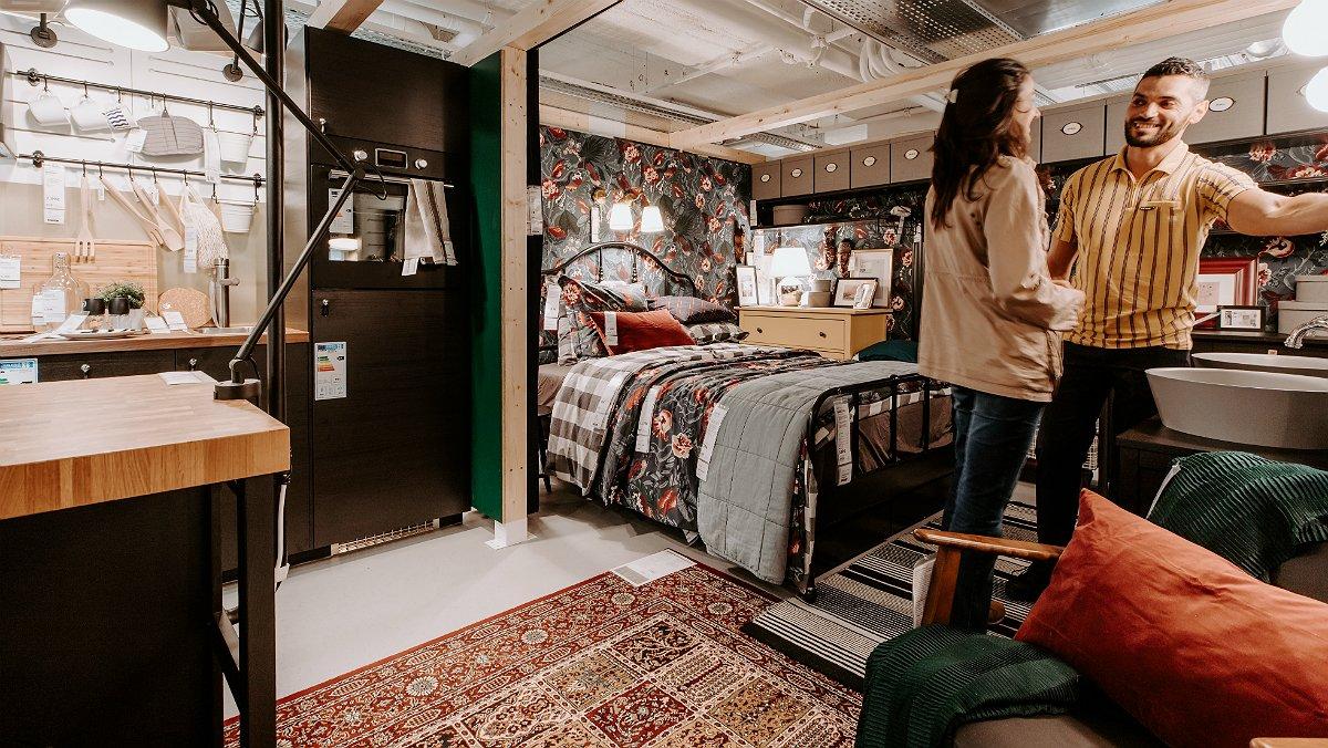 El objetivo de Ikea es que el cliente recree su hogar en la tienda.