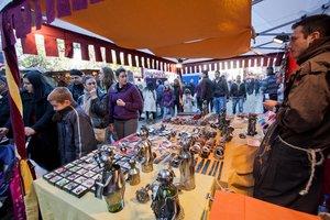 Imagen de archivo del Mercado Medieval de Viladecans, que se celebra el último fin de semana de noviembre.