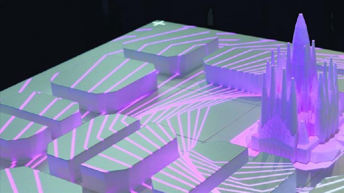 Imagen del proyecto Big Data Sagrada Família, del centro tecnológico Eurecat.